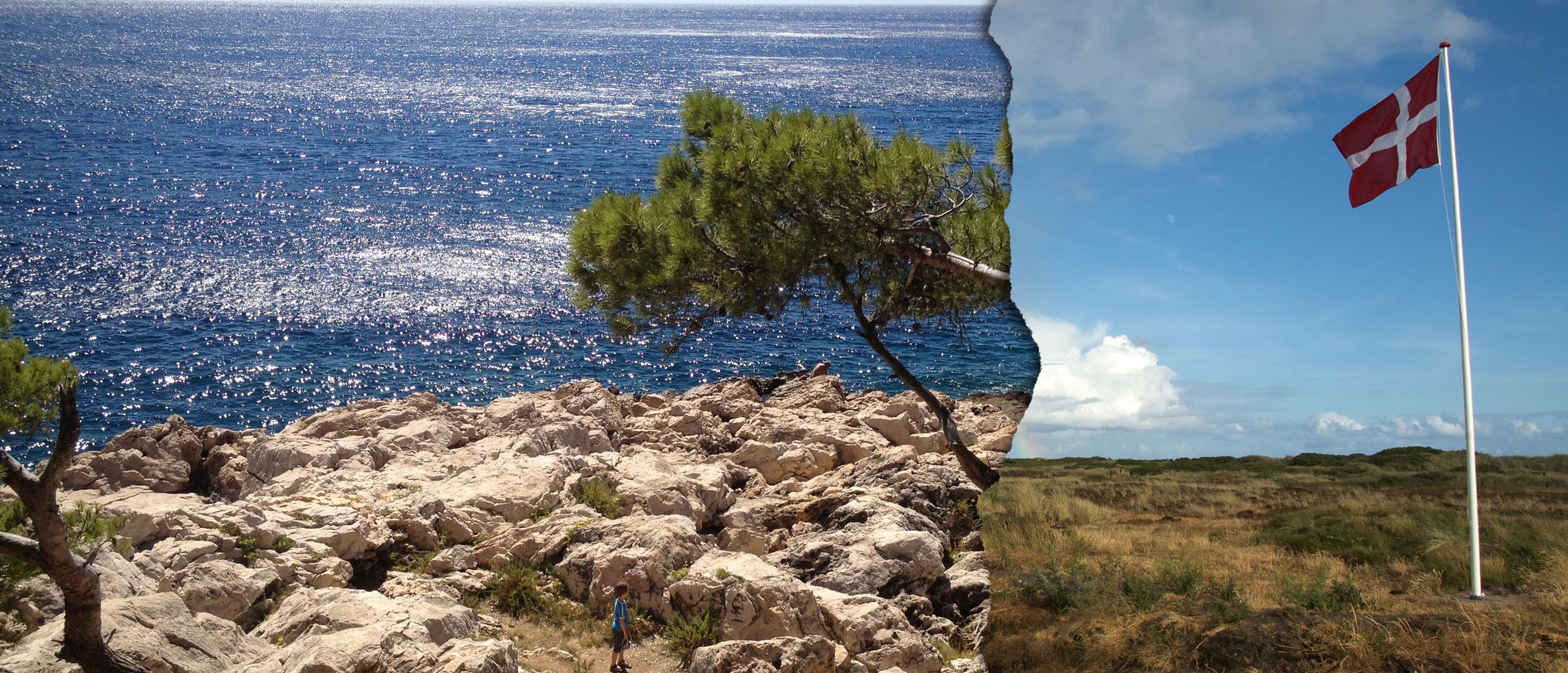 Strand Frankreich und Dänemark